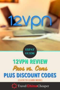 12VPN review on Pinterest