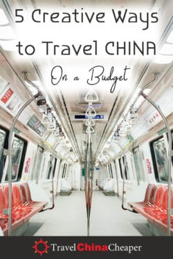 Ways to Budget Travel in China - Pin This Image!