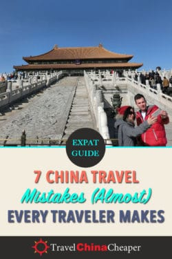 China travel mistakes for Pinterest