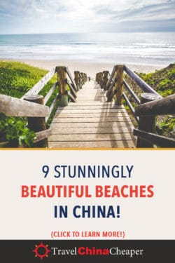 Pin this article about the best beaches in China on Pinterest!