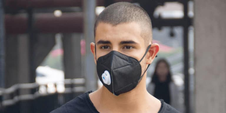 Masque anti-pollution AQBlue Plus pour la Chine