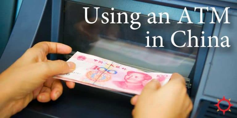 Using an ATM in China