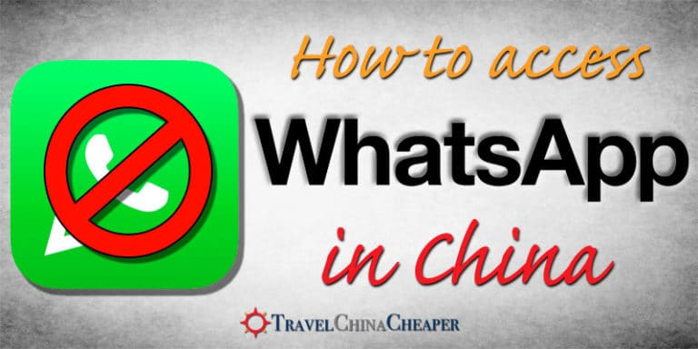 How to access WhatsApp since WhatsApp is blocked in China