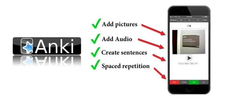Use Anki Flashcards to learn to read Chinese