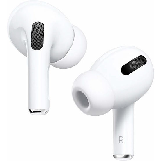 The new Apple AirPods Pro, in ear noise cancelling headphones