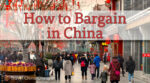 How to bargain in China