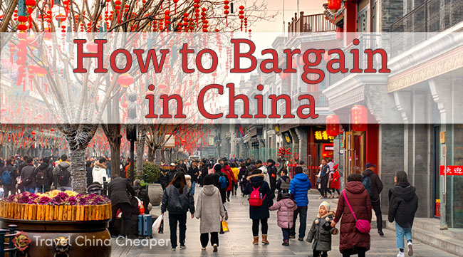 How to bargain in China (successfully!)