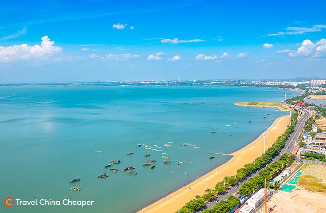 Silver Beach (银色海滩) in Beihai, China