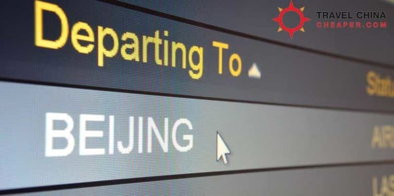 Using Beijing to Xian flights