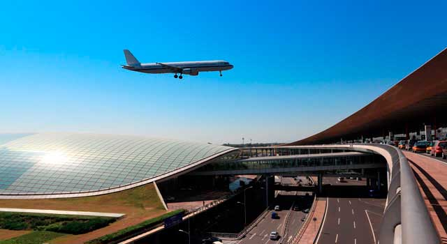 The Beijing Capital Airport (PEK)