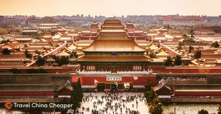 The Forbidden City, one of the must-see sites in Beijing, China