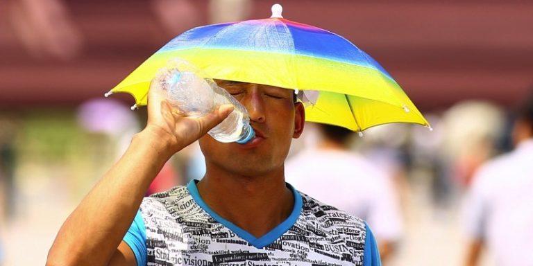 Beijing Heat in the summer