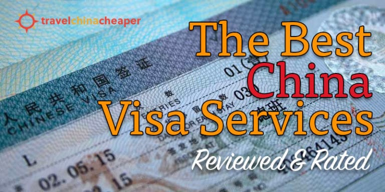 Best China Visa services reviewed and rated with discount codes