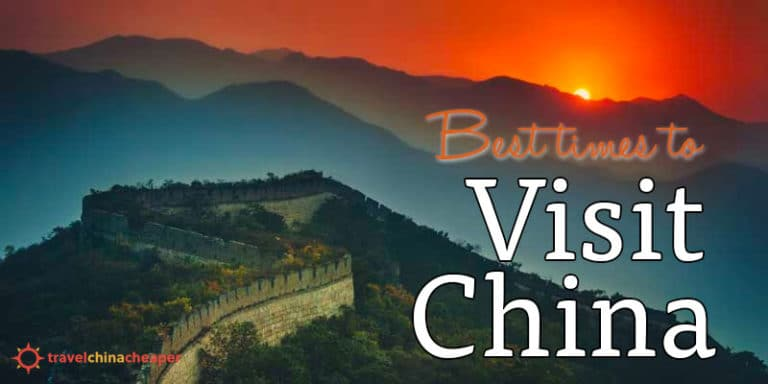 What are the best times to visit China (months and seasons)