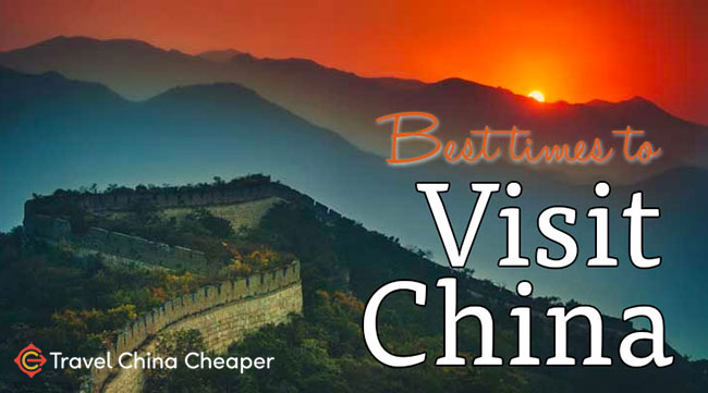 What are the best times to visit China?