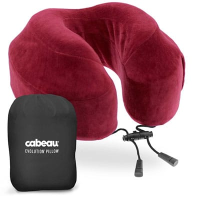 The world's most comfortable travel pillow, a gift for the traveler in your life