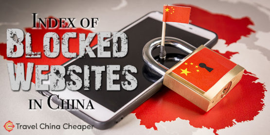 List of blocked websites in China in 2020
