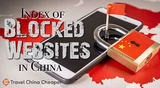 List of blocked websites in China in 2021