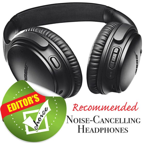 Bose Quiet Comfort 35, my recommendation for the best noise cancelling headphones