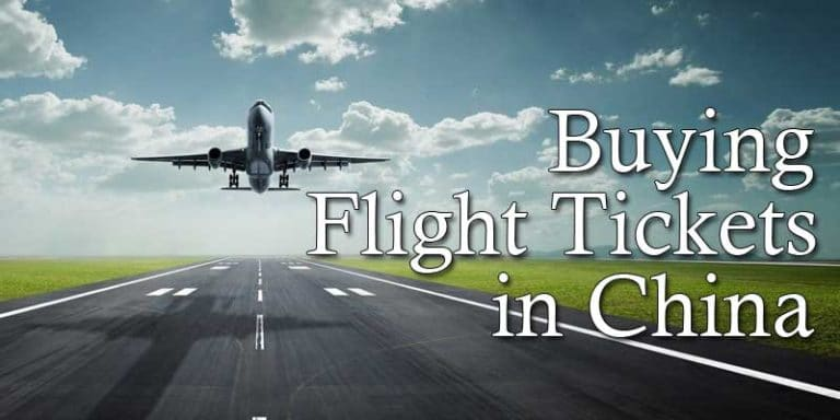 Buying Cheap China Flight Tickets