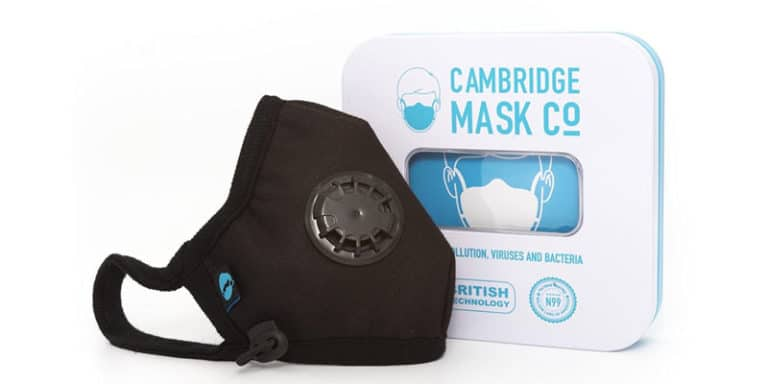 Cambridge Pollution Masks, one of the best pollution masks for travelers and expats