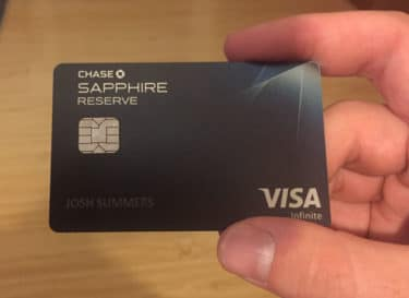 Use the Chase Sapphire Reserve credit card to get free flights in China