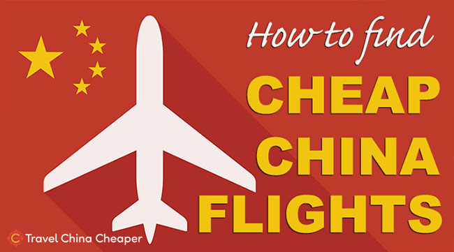 How to find cheap flights to china
