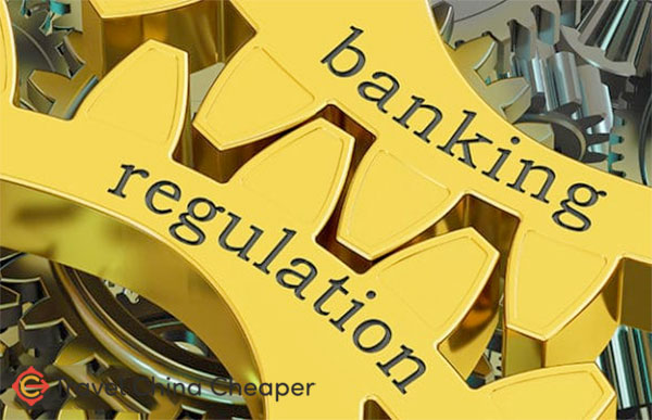 China banking regulations limit how you transfer money into/out of China
