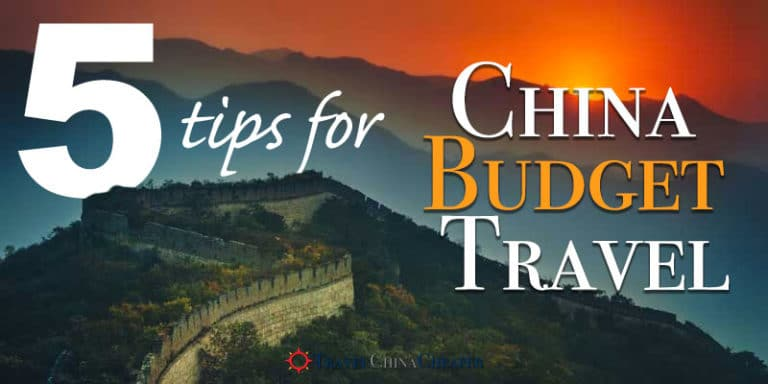 5 Creative Ways to travel China on a budget