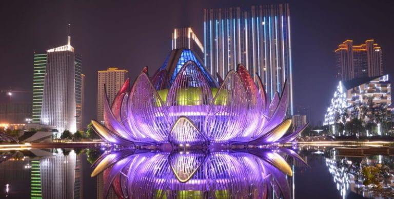 China Lotus Building in Wujin