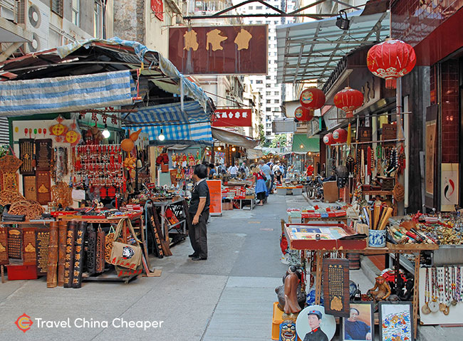 A Chinese market street
