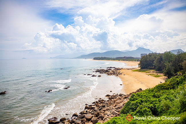 Shimei Bay Beach (石梅湾), one of the best beaches in China, Hainan