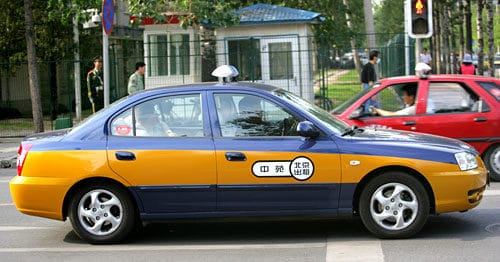 China Travel Safety Tips - Choose your taxi wisely
