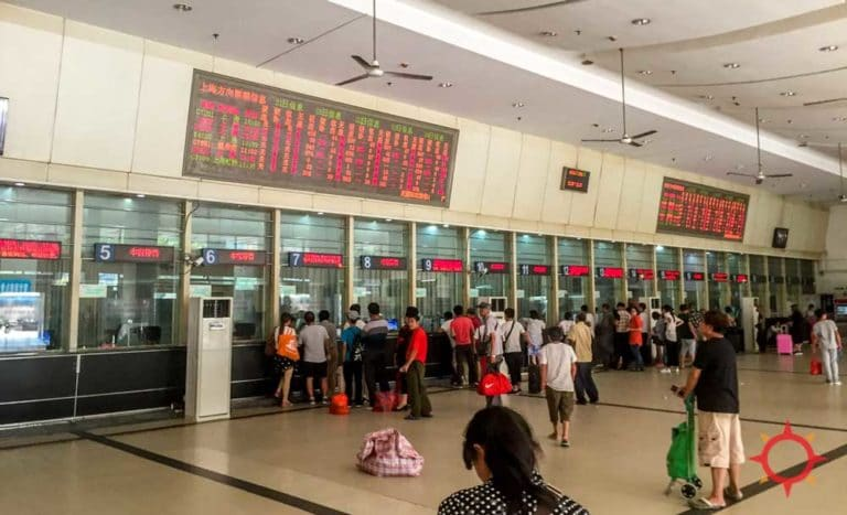 How to buy tickets at the station from the Ultimate China Train Guide