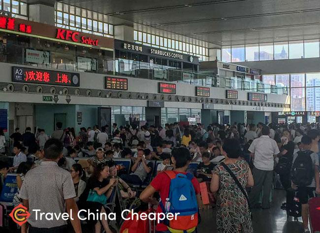 China Train Waiting Hall