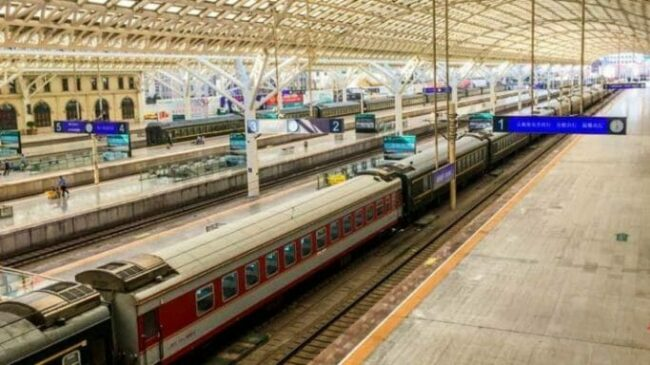 Travel China by train