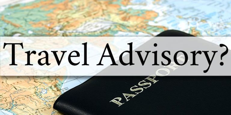 China Travel Advisory. What does it mean