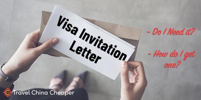 China Visa Invitation Letter