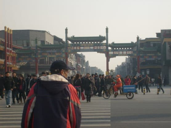 China Travel Safety Tips - Look both ways when crossing the street