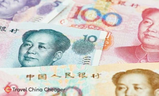 Being well-versed on Chinese currency matters when you want to travel China on a budget