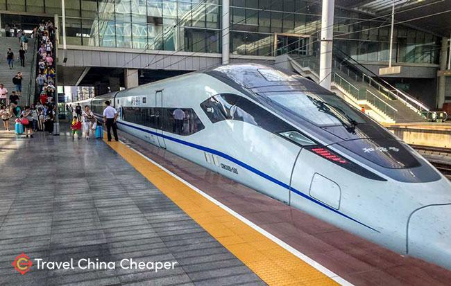 Chinese high-speed train