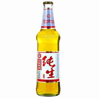 Chinese Kingstar Beer, also known as 金星啤酒