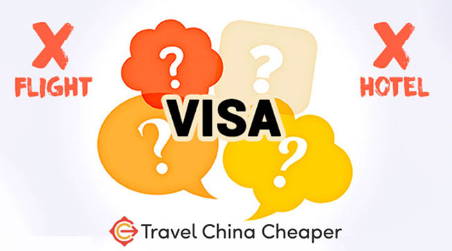 China visa itinerary - are flight and hotel reservations required?