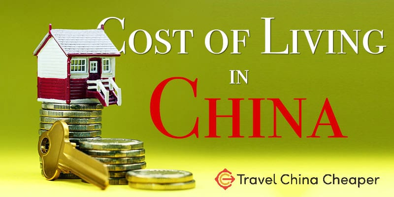 What is the cost of living in China?