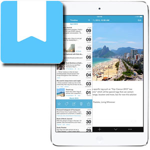 Day One 2, a travel journal app for the digital nomad