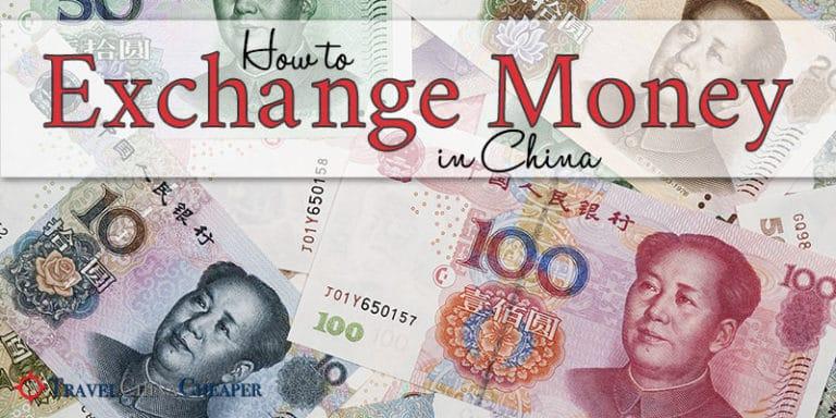 The best ways to exchange money in China
