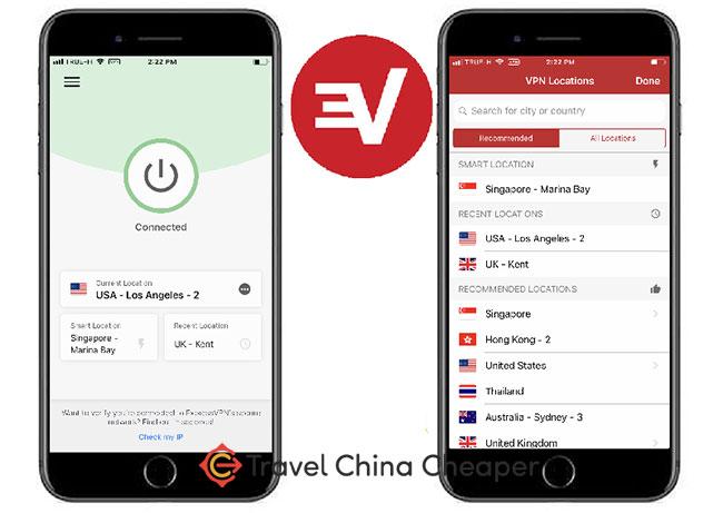 ExpressVPN Mobile app