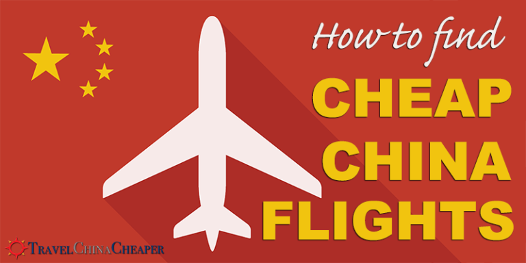 How to get Cheap China Flights