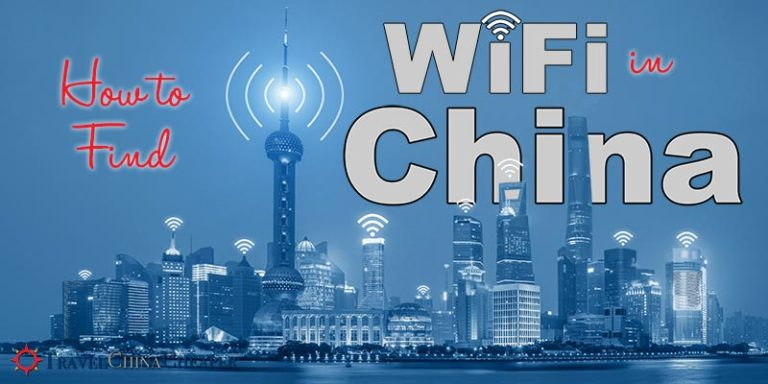 How to find WiFi in China