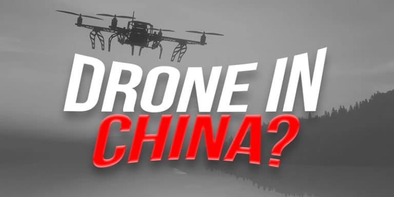 Flying a Drone in China - rules & regulations